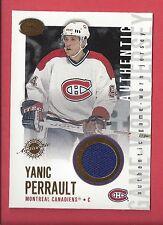 2002-03 Pacific Calder Authentic Game-Worn Jerseys #12 YANIC PERRAULT