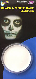 Halloween Vampire White Base Face Paint Zombie Costume Makeup Party Accessory