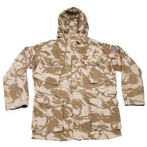 Original British Army Windproof DPM Desert Camo Jacket Smock - Brand New