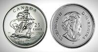 2004P Canada St. Croix 25 Cents Gem BU UNC Quarter!!
