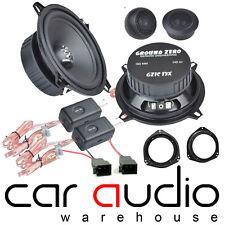 Vauxhall Corsa C GROUND ZERO 280 Watts Component Front Door Car Speaker Kit