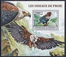 Burundi Block 373 (3247) **, Greifvögel / Birds Of Prey (9 ME)