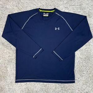 Under Armour Catalyst Shirt Mens Large Loose Heatgear Heat Gear Contrast Stitch