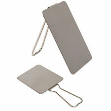 Military Camping Travel Survival Bushcraft Shaving Signalling Mirror with Stand