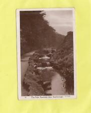 the  falls    -   PEASHOLM  GLEN    -  SCARBOROUGH , YORKSHIRE ( 44K )