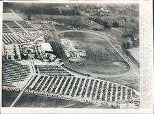 Santa Anita Horse Racetrack Park Aerial Arcadia Los Angeles Press Photo