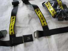 Britax competition 3 point rally/ race harness tags. Ford, mini, porsche 911