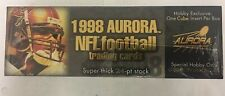 1998 Aurora Football Singles + Championship Fever Gold and Red Singles
