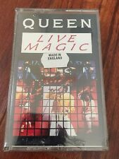 New Queen Live Magic Cassette Tape Sealed Made in England 1996 Freddie U2 Stones