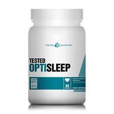 Tested Nutrition Opti Sleep 60 Kapseln Schlafmittel Gaba Magnesium Entspannung