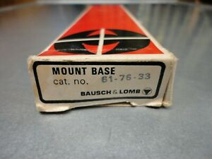 Bausch & Lomb Trophy Scope Mount Base # 61-76-33 For Savage 110 MLH Short Action
