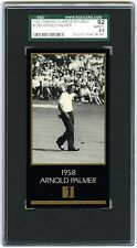 ARNOLD PALMER~1997 GRAND SLAM VENTURES 1958 MASTERS COLLECTION SGC-8.5 (92) CARD