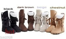 hot Fashion Women Girls Winter Warm Snow Boots Shoes 4color full size 35-40