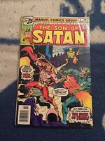 THE SON OF SATAN #4 TV Show Coming THE FACES OF FEAR [Marvel Comics, 1976]