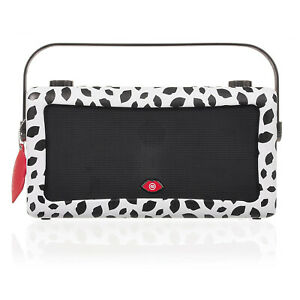 VQ Lulu Guinness Black Lip Hepburn MKII DAB+ FM Radio Speaker Bluetooth