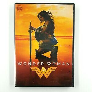 WONDER WOMAN (DVD, 2017) Gal  Gadot, Chris Pine