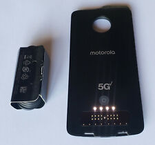 Black Motorola 5G Moto Mod for Moto Z3 Moto Z4 VERIZON in Bulk Pkg - REFURBISHED