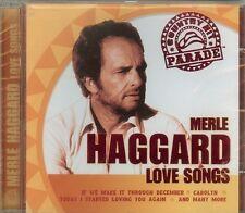 MERLE HAGGARD - Love Songs - CD - NEW