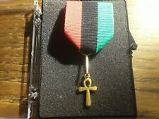 Micronation Msimbati 100th anniversary Pan Africa Flag Order of the Ankh Blm