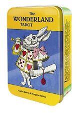 Wonderland Tarot Pocket Edition Tarot Collectible Tin NEW 78 cards 56pg booklet
