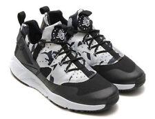 Nike Air Huarache Utility Pure Platinum Black Grey Camo Size 13 (806807-001)