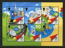 Guernsey 2019 50th Anniversary Mail Sheet Mint Nh