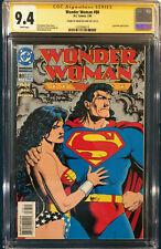 BRIAN BOLLAND SIGNED CGC 9.4 SS WONDER WOMAN #88 COMIC NOT CBCS BATMAN SUPERMAN