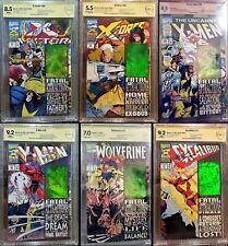 Fatal Attractions Set, Cbcs 8.0 Excalibur, X-Men, X-Force, X-Factor, Wolverine