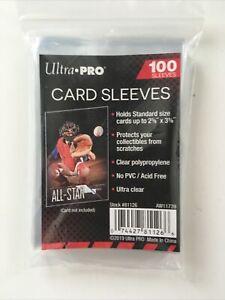 ULTRA PRO 100 Pochettes - Sleeves transparentes & souples CARTES Pokemon, Magic