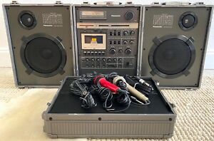 MINT Vintage Panasonic Rx-6400 Stereo Boombox Fully Tested WORKING & RARE