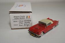 TT 1:43 BELGIUM TRUCKS JUPITER MODELS FORD THUNDERBIRD CLOSED 1960 RED MIB RARE