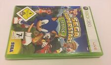 Sega Superstars Tennis Microsoft Xbox 360 Brand New Sealed PAL Sonic