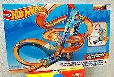 Torre scontri estremi Hot Wheels playset pista con Booster Motorizzato Mattel