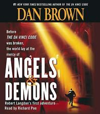 Angels and Demons by Dan Brown CD Audio Book - New Sealed