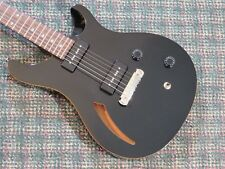 PRS SE Custom Semi-Hollow Soapbar Guitar Black! w/gigbag