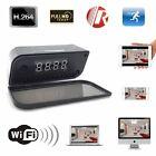 1080P WIRELESS CLOCK CAMERA WIFI IP HOME SPY HIDDEN SECURITY VIDEO RECORDER CAM