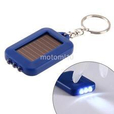 Power LED Portable Flashlight Camping Keychain Torch Handy Light Lamp US