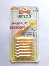 Interdental Brush | 0.7 mm | Retractable Dental Brushes | Pack of 40 Brushes
