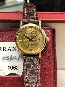 Omega Deville 18ct Gold Watch