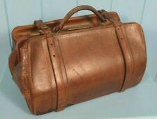 GLADSTONE BAG VICTORIAN LEATHER MADE IN ENGLAND