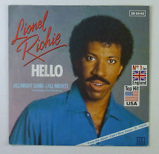 "7"" Single - Lionel Richie - Hello - S748 - washed & cleaned"