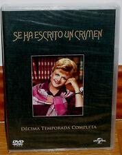 SE HA ESCRITO UN CRIMEN 10ª TEMPORADA COMPLETA 5 DVD NUEVO SERIE (SIN ABRIR) R2