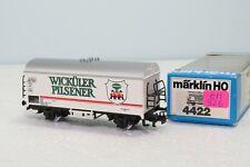 """MARKLIN HO 4422 REEFER """" WICKUELER PILSENER """" GH326"""
