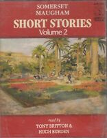 Somerset Maugham Short Stories Vol 2 Cassette Audio Book Mackintosh 3 Fat Women
