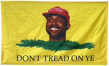 Dont Tread On Ye 3x5 Ft Flag Banner for College Dorm Frat or Man Cave