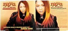 MAXI CD SINGLE 4 TITRES NIVEA DON'T MESS WITH MY MAN feat CASEY OF JAGGED EDGE