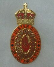 36th ulster division lapel badge british army remember them the somme c