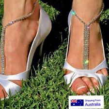 Pair of Beach wedding barefoot sandals Bridal foot Jewelry Summer Jewelry  beach