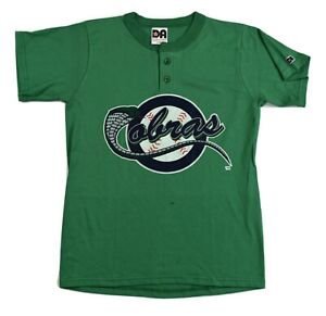 Kissimmee Cobras Minor League Baseball Youth Henley Shirt New M, L