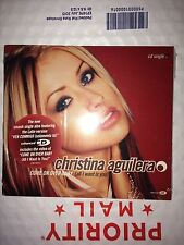 CHRISTINA AGUILERA Come On Over Baby (2000 U.S. Enhanced CD Single Digipak) NEW
